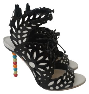 Sophia Webster Wings BLACK, MULTICOLOR Pumps