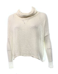 Soprano Cowl-neck Long-sleeve Sweater