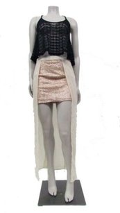 Sparkle & Fade Urban Outfitters Skirt rose Gold ivory