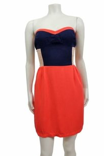 Sparkle & Fade Color Block Dress