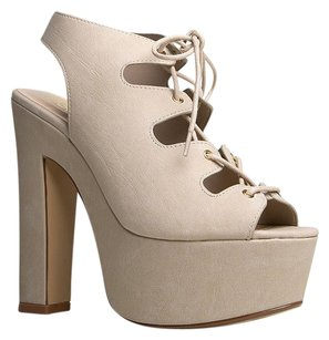 Speed Limit 98 Beige Sandals