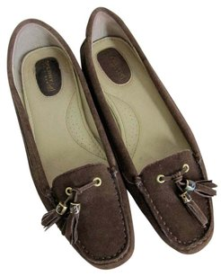 Sperry Top-siders Suede Moccasins Loafers 8m Brown Flats