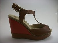 Splendid Kane Wedge Caramel Multi-Color Platforms
