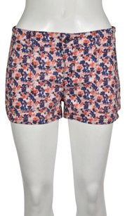 Splendid Womens Floral Shorts Orange