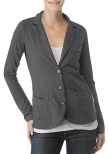 Splendid Top Charcoal Gray Blazer