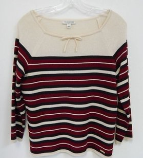 St. John St Sport Striped Santana Sweater