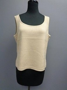 St. John St Stretchy Knit Top Tan