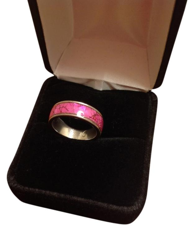 Stainless & Pink Band
