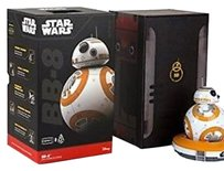 Star Wars Robot BB8 Sphero Toy Droid App Enabled Smartphone Tablet Voice Rare