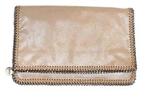 Stella McCartney Silvery Beige Clutch