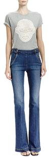 Stella McCartney Wash High Flare Leg Jeans