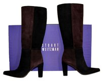 Stuart Weitzman black/ brown Boots