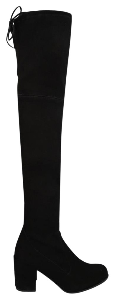 Stuart Weitzman Black Tieland Suede Over The Knee Boots/Booties Size EU 37 (Approx. US 7) Regular (M, B)