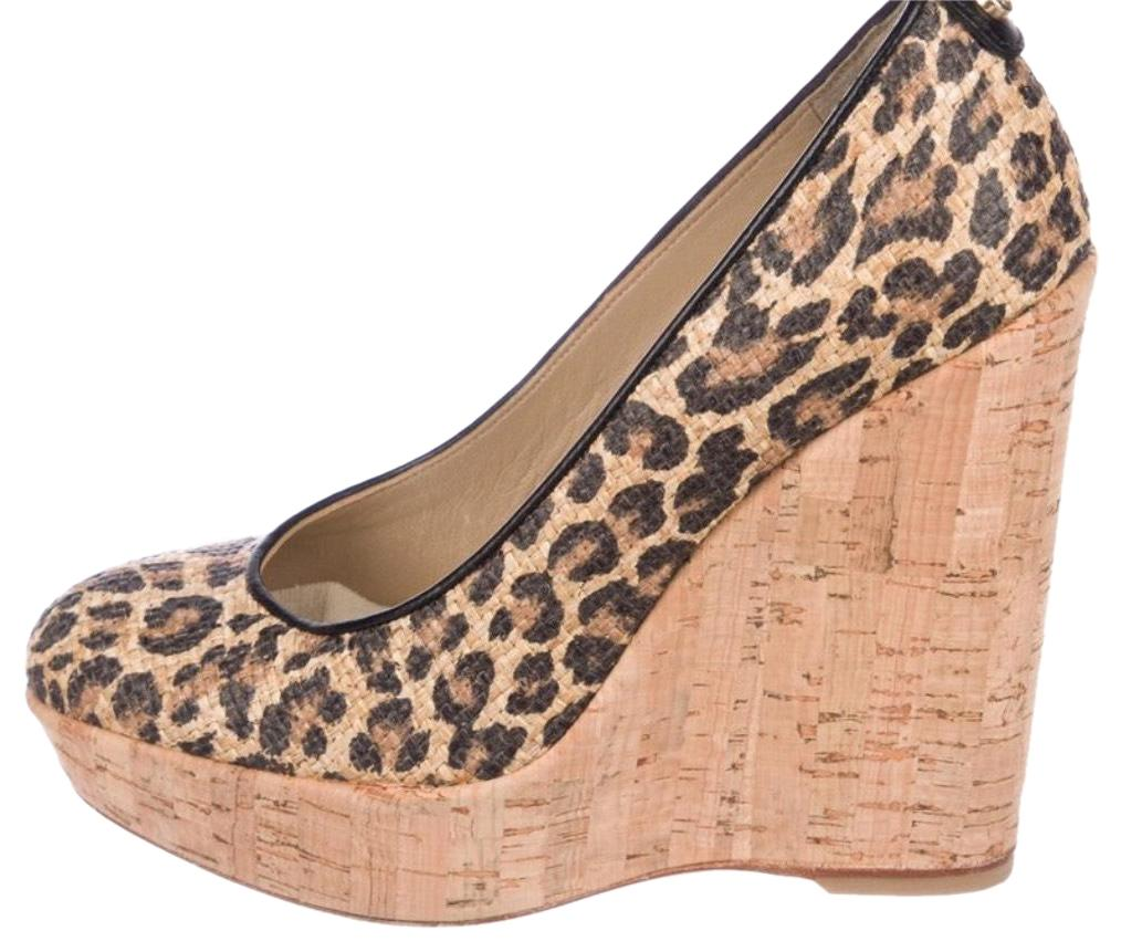 f57783e9a636 Stuart Weitzman Black Tan  Corkswoon Wedges Wedges Wedges Size US 7 Regular  (M ...