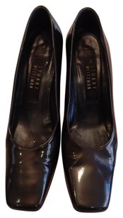 Stuart Weitzman Patent Leather Gray olive Pumps