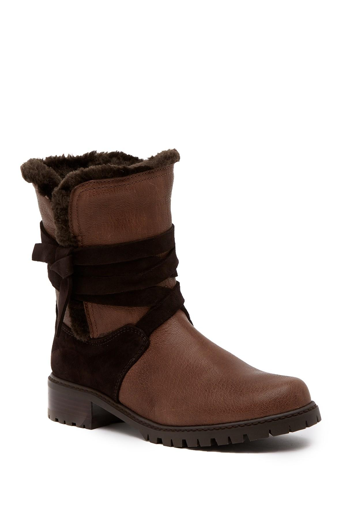 Stuart Weitzman Rumind Snowfield Faux Shearling Ankle (K1) Boots/Booties Size US 11 Regular (M, B)
