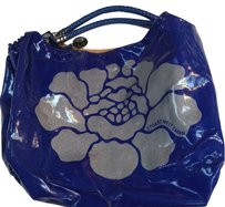 Stuart Weitzman Tote in Cobalt Blue And Silver