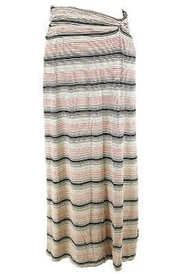 Studio M Striped Skirt beige