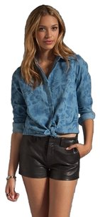 Stylestalker Button Down Shirt Chambray Floral