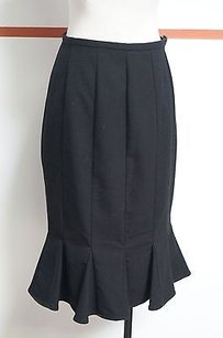 Sunny Leigh Black Poly Blend Skirt Blacks