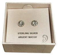 Swarovski Sterling Silver STERLING SILVER Swarovski Crystal Post Earrings