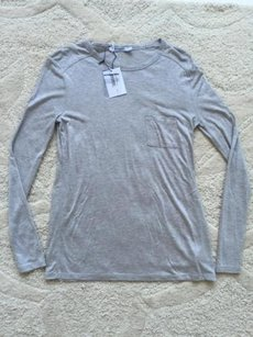 T by Alexander Wang Womens Top Heather Grey