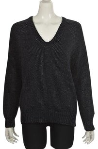 T by Alexander Wang Womens Navy Sweater