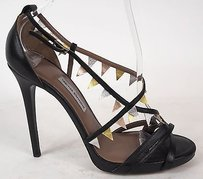 Tabitha Simmons Strappy Black Pumps