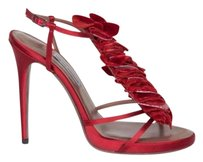 Tabitha Simmons Womens Red Pumps