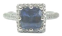 Tacori Tacori Platinum Gem Sapphire Diamond Anniversary Jewelry Ring 2.43ct