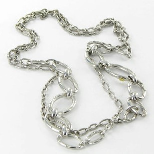 Tacori Tacori 18k925 City Lights Thick Chain Necklace 38 Sterling Silver