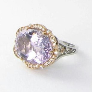 Tacori Tacori 18k925 Color Medley Ring 0.51cts Diamond Amethyst 18k Rose 925