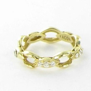 Tacori Tacori 18k925 Ivy Lane Ring Diamond Pave Links 0.33cts 18k Yg