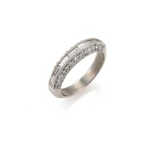 Tacori Tacori Diamond Platinum Dome Band Ring -