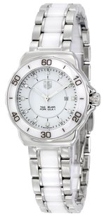 TAG Heuer TAG HEUER Formula 1 White Dial Ceramic Ladies Watch 7612533096981