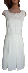 Tahari New With Tag Pearl Beaded Neck Priced To Sell Fast Shipping Dress