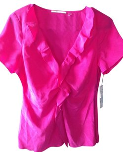 Tahari Top Hot pink