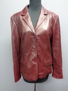 Talbots Collection Burgundy Red Jacket