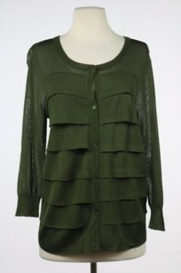 Talbots Womens Tiered Sweater