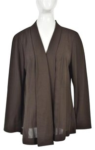 Talbots Woman Womens Cardigan 14w Plus Wool Blend Sweater