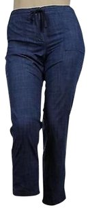 Talbots Womens Solid 100 Casual Trousers Pants