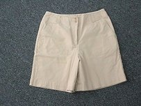 Talbots Cotton Stretch Shorts khaki