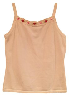 Talbots kids Top White, pink