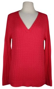 Talbots Womens V Neck Sweater