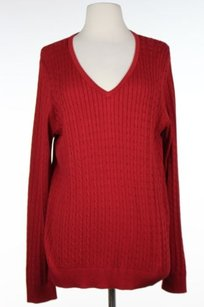 Talbots Womens Cable Knit Sweater