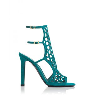 Tamara Mellon Womens Tm_scandal_105mm_teal_41 Multi/Print Pumps