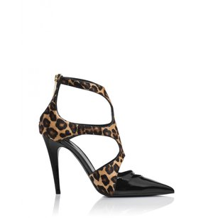 Tamara Mellon Womens Tm_misbehave_105mm_leopd_37.5 Multi/Print Pumps