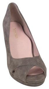 Taryn Rose Dark Grey Wedges