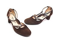 Taryn Rose Chocolate Brown Platforms