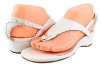 Taryn Rose Kat Bianco White Sandals